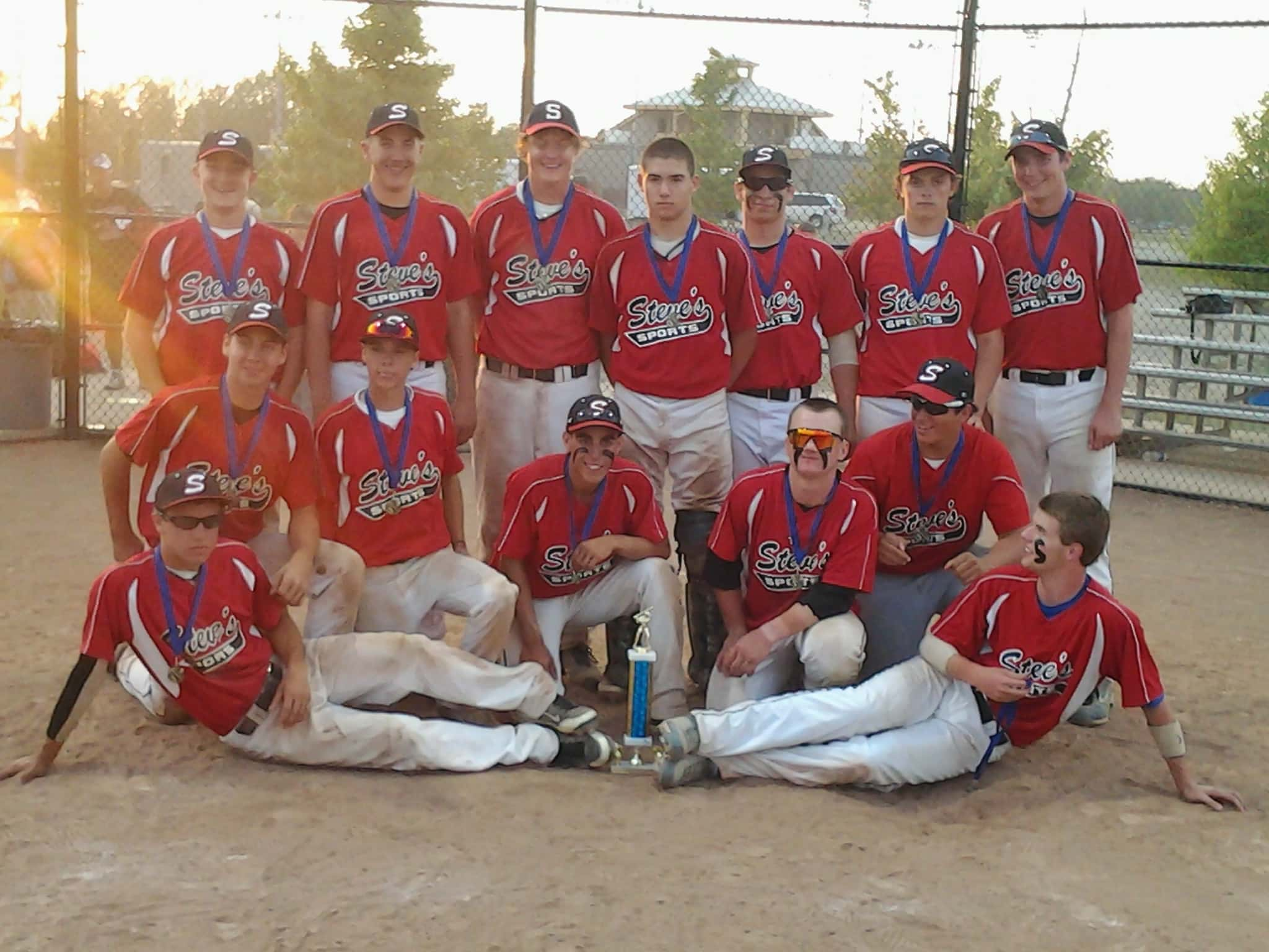 "Steve's Sports! 2012 ""Pray Before You Play"" 18U Champs!"
